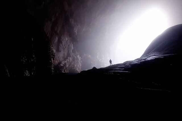 Walking through your spirit cave