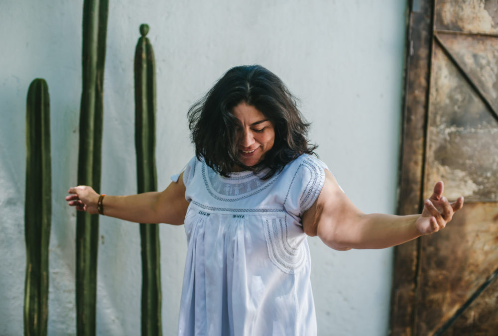 embodied movement, woman dancing