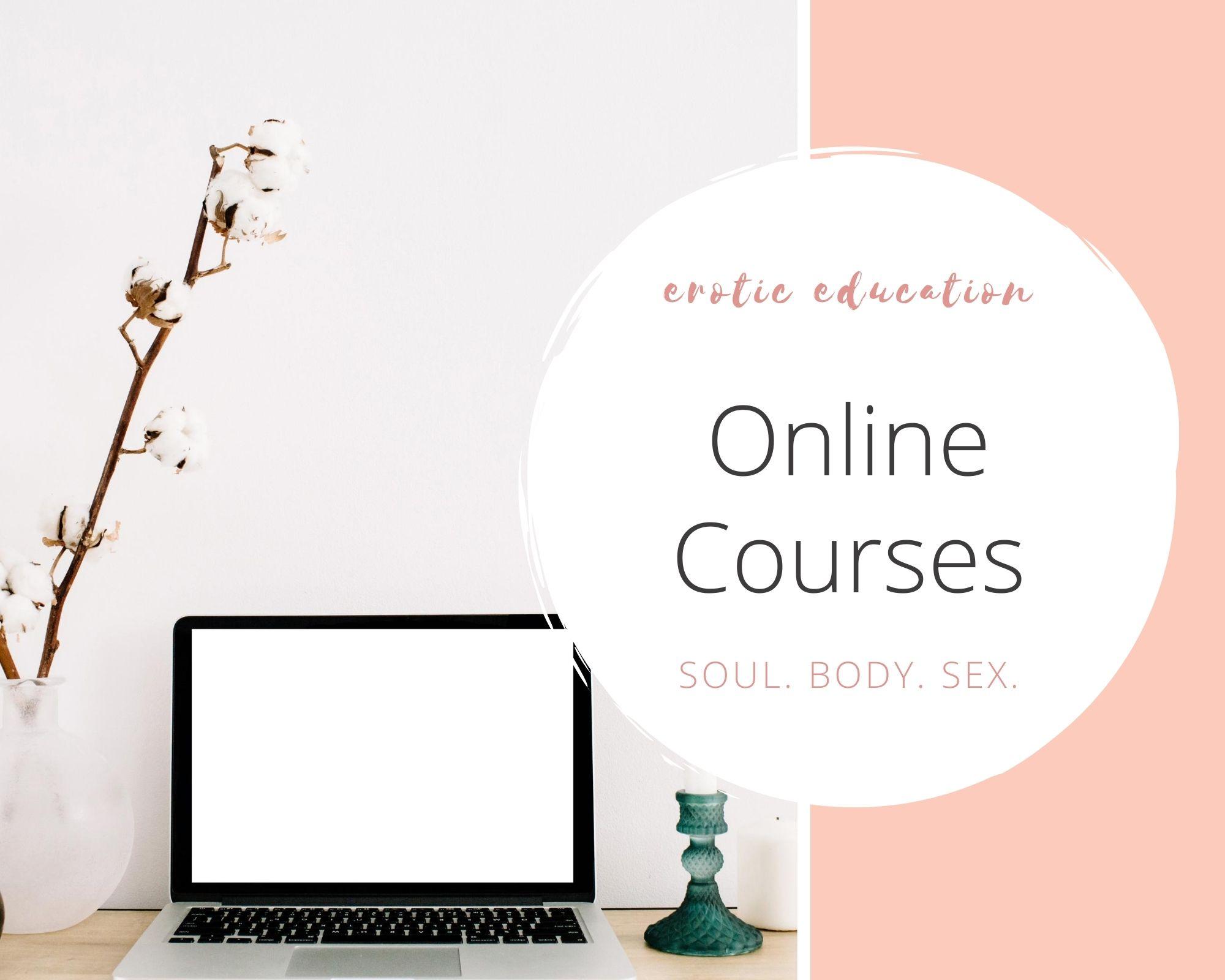 online courses, erotic courses, erotic education, online classes